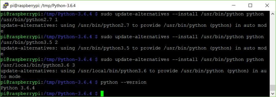 UpdateAlternativesPython