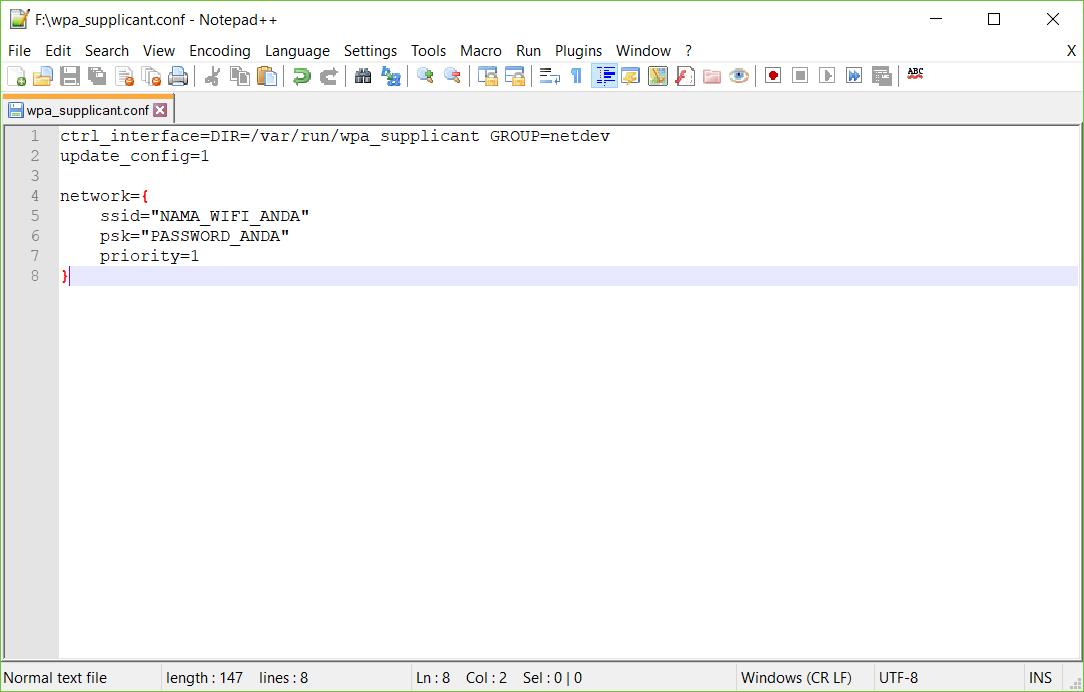 ConfigureWPASupplicant